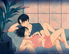 Korean Illustrator Captures Love And Intimacy So Well That You Can Almost Feel It — Koreaboo