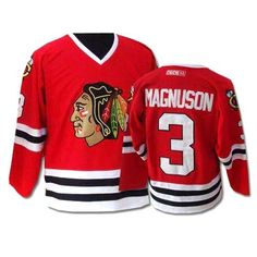 11 Best Authentic Keith Magnuson Jersey - Women s Youth Red Black ... b3f3f01d6