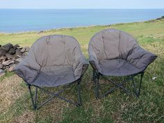 CAMPING | Vango Apollo Oversized Camp Chairs – The Best Value, Comfiest Camp Chairs We've Ever Used!  #vango  #camping