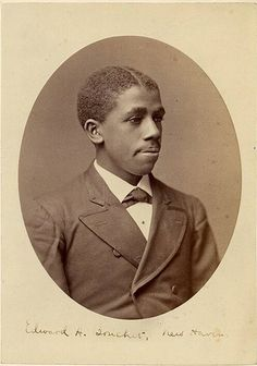 Edward Bouchet (1852 – 1918) was the first African American to earn a Ph.D. from an American university and the first African-American to graduate from Yale University in 1874. He completed his dissertation in Yale's Ph.D. program in 1876 becoming the first African American to receive a Ph.D. (in any subject). His area of study was Physics. Bouchet was also the first African American to be elected to Phi Beta Kappa.