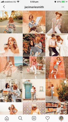 @jacimariesmith uses Preview app to plan her Instagram feed 😍 This one is a very warm, creamy, orange Instagram feed theme, with vintage vibes. Click here to see more Instagram feed ideas and how to color coordinate your own Instagram feed perfectly. Enjoy! | #instagramtips #socialmediatips #previewapp Layout Do Instagram, Instagram Grid, Pink Instagram, Vintage Instagram, Instagram Design, Instagram Blog, Best Instagram Feeds, Instagram Feed Ideas Posts, Instagram Story Ideas