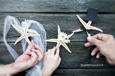 Ogni matrimonio la sua storia...ogni storia il suo progetto... questa la storia di una famiglia di pescatori e di 3 stelle marine!!!