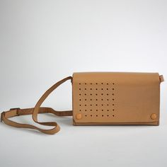 Braun T3 leather case