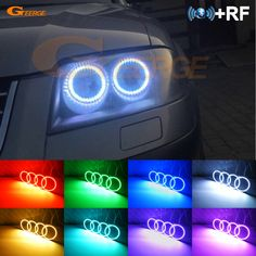 Cheap ring closer, Buy Quality ring wholesale directly from China ring burner Suppliers: For Volkswagen VW Passat B5.5 3BG 2001 2002 2003 2004 2005 halogen headlight RF Bluetooth APP Multi-Color RGB led angel eyes kit Enjoy ✓Free Shipping Worldwide! ✓Limited Time Sale ✓Easy Return. Led Angel Eyes, Passat B5, Halogen Headlights, Car Lights, Closer, Volkswagen, Remote, Bluetooth, Neon Signs