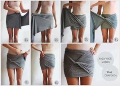 How to take fabric and turn it into a skirt-My Fashion Sketchbook: Fashion DIY