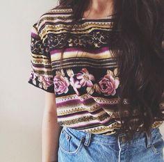 #floral #top