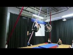 I want to try this whole routine!  Skyfall - Aerial Hoop / Lyra Routine at A2D2 Student Showcase - YouTube