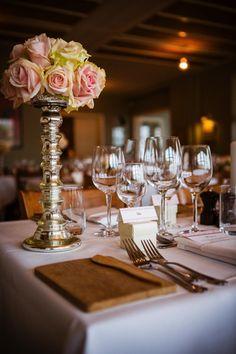 Elegant wedding decoration, Roses wedding decoration. Roses table flowers. Maybe something like this at your table?