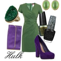 Hulk, created by ja-vy on Polyvore