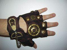 MEN Steampunk Glove by moonhoar - For Steam Punk Fans!