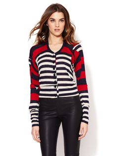 Anglomania Multi Striped Cardigan by Vivienne Westwood on Gilt.com