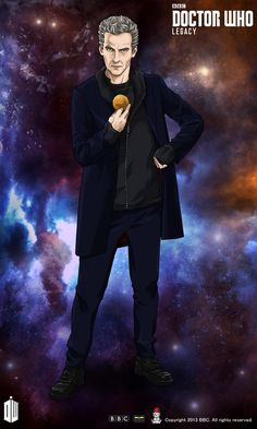 """new """"Last Christmas"""" Capaldi costume for Doctor Who Legacy."""