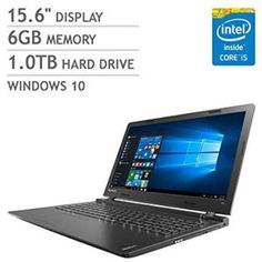 "Excellent for Laptop! 2016 Newest Lenovo Premium High Performance 15.6-inch HD Laptop (Intel Core i5 processor, 6GB DDR3L, 1TB HDD, DVD RW, Bluetooth, Webcam, WiFi, HDMI, Windows 10 ) - Black - ""New Acer Chromebook as the best value 11.6-inch Chromebook"" Acer Chromebook, 11.6-inch HD, CB3-131-C3SZ (Intel Celeron, 2GB, 16GB, White)"