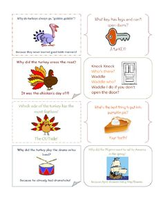 g*rated: Printable Lunch Box Jokes for Thanksgiving Notes For Kids Lunches, Lunch Notes, Kids Meals, Thanksgiving Jokes For Kids, Good Table Manners, Halloween Jokes, Lunch To Go, Lunch Time, Blog