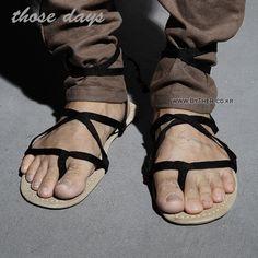 e3e0d9a654db3 2014 men literary stylist retro summer essential sandals tide X35 P Y3  (YTY)-