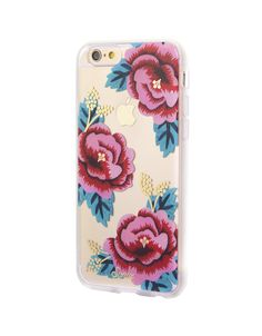 Santa Rosa case now available for iPhone 6/6s & 6 Plus / 6s Plus at shopsonix.com! #sonix #sonixcases #floral #flowers #pinkflowers #goldfoil #floralcase #iPhone #cellphonecase #iPhone6