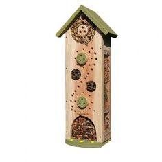 Have you got insect hotel tower in your outdoor space? #homesfornature