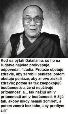 Obrazok - Dalajlama, človek a peniaze