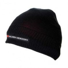 Vodafone McLaren Mercedes Black Team Beanie Paddock Studio. Available at www.paddockstudio.com