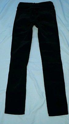 nwt$129 J BRAND J GIRL 5612 Pencil Leg SKINNY Corduroy Jeans Pants BLK FOREST 14