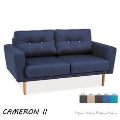 Cameron II. kanapéágy Sötétkék Bükk színű fa lábakkal. Ülés:szövet. Keret: fa. A gombok sötétszürkék.  Méretek:85 cm 45 cm 160 cm 58 cm. Szélesség: 160 cm magasság: 85 cm mélység: 58 cm ülőmagasság: 45 cm. SIGNALBUTOR.HU - székek, asztalok, bútorok webáruháza, ahol bárszék és dohányzóasztalok, nappali és egyéb bútorokat találhat.