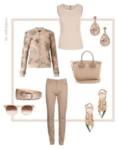 """""""Enjoy the relationship"""" by aakiegera on Polyvore featuring мода, Valentino, Miss Selfridge, Dolce&Gabbana, Luxiro, Christian Louboutin, Barbour и Thierry Lasry"""