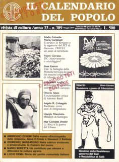 Calendario Del 1977.11 Fantastiche Immagini Su Il Calendario Del Popolo 1977