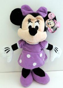 Officially Licensed Disney Plush Minnie Mouse Purple Dress