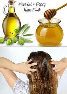 Recipe of Homemade #Honey and Olive Oil #Hair Mask!  http://www.feminiya.com/how-to-make-homemade-honey-and-olive-oil-hair-mask/