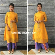 Amala paul ~ Fashion Trends ~ – Page 3 of 12 – South India Fashion Wedding Saree Blouse, Amala Paul, 2016 Fashion Trends, Indian Attire, Indian Suits, Ethnic Dress, Top Celebrities, Indian Couture, South Indian Actress