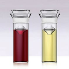 Savino Wine Preserving Carafe | Savino is an easy-to-use wine preservation system that allows you to enjoy your favorite wine anytime without waiting for an occasion. Open any bottle with confidence, knowing that you can enjoy the full original flavor of Tuesday's wine on Saturday. | $49.95