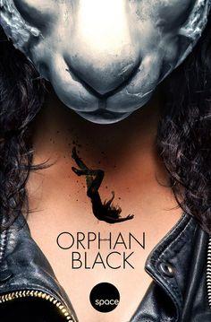 Cartel de la cuarta temporada de #OrphanBlack que se emitirá en #Netflix
