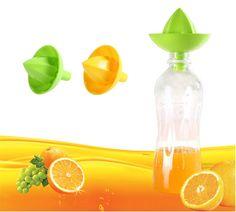 1PC FDA Plastic Manual Juicer Fruit Presser Lemon Squeezer Mini Fruit & Vegetable Reamer Easy Kitchen Tools O0251