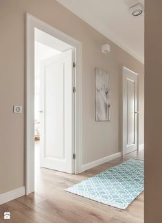 Ideas for painted door interior ideas bedroom colors Home Living Room, House, Home, Doors Interior, House Interior, Home Deco, Room Colors, Home Interior Design, House Colors