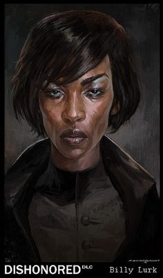 Dishonored's own femme fatale - Billie Lurk.
