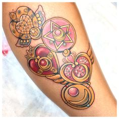 Kimberly Graziano - Sailormoon Tattoo Seriously considering a sailor moon tattoo now