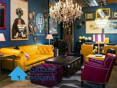 40 Untold Stories About Eclectic Chic Living Room You Must Read 327 Colourful Living Room, Eclectic Living Room, Chic Living Room, Living Room Designs, Living Room Decor, Eclectic Decor, Art Deco Interior Living Room, Decor Room, Living Rooms