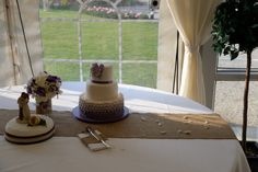 Plain Hessian Table Runner used on cake table. Photo supplied by Chris Snowden from Time Photographic Hessian Table Runner, Table Runners, Photo Supplies, Wedding Bunting, Cake Table, Table Decorations, Home Decor, Decoration Home, Room Decor
