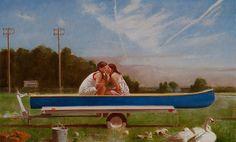 Whisper - David Graeme Baker Painting