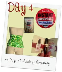 Looking for some ostomy or IBD stocking stuffers! Look no further! Check out Inflamed & Untamed's 12 Days of Holiday Give-Aways!