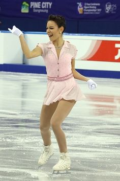 Figure Skating Costumes — Kailani Craine skating to Dream A Little Dream by...