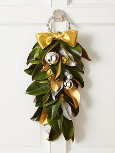 Holiday Door Decorations - DIY Fall and Winter Wreaths - Woman's Day