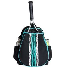 I found this at Pink Golf Tees! Ame & Lulu Love All Tennis Backpack - Aqua Shutters Tennis Bags, Golf Bags, Mobile Makeup Artist, Lulu Love, Golf Stores, Back Bag, Golf Accessories, Golf Fashion, Ladies Golf