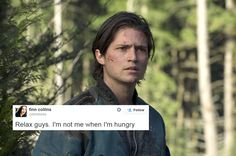 The 100 and Twitter || Finn Collins || Tumblr - willblogforrationpoints || Thomas McDonell