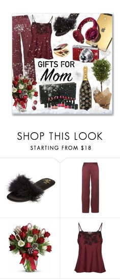 """""""Gifts For Mum"""" by leanne-mcclean ❤ liked on Polyvore featuring River Island, Marjolaine, Marc Jacobs and Tom Ford"""