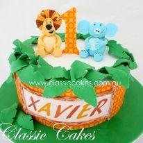 Raa Raa the noisy lion birthday cake by www.classiccakes.com.au