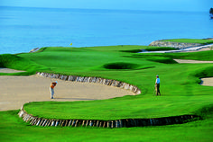 La Cana golf course in Punta Cana is designed by P. B. Dye.