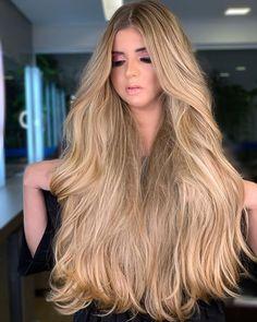 Curls For Long Hair, Super Long Hair, Cute Hairstyles Long, Straight Hairstyles, Beautiful Long Hair, Gorgeous Hair, Silky Smooth Hair, Glossy Hair, Glam Hair