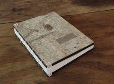 birch wedding guest book bark wood book by ThreeTreesBindery