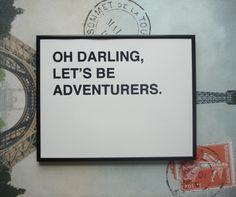 Oh darling....